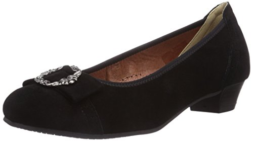 Hirschkogel by Andrea Conti 3009220, Damen Pumps, Schwarz (002), 40 EU