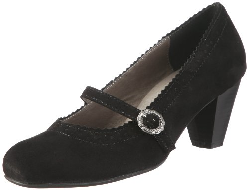 Hirschkogel by Andrea Conti 0590437, Damen Pumps, Schwarz (002), 42 EU