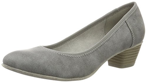 s.Oliver Damen 22301 Pumps, Grau (Graphite 206), 38 EU