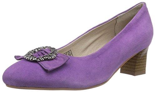 Bergheimer Trachtenschuhe Rosi, Damen Pumps, Violett (Purple), 39 EU