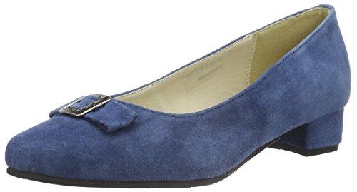 Hirschkogel by Andrea Conti Damen 3002723 Pumps, Blau (Jeans 274), 40 EU