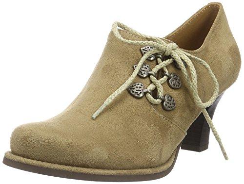 Hirschkogel by Andrea Conti Damen 3591521 Ankle Boot, Beige (Taupe 066), 35 EU