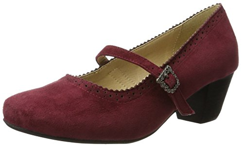 Hirschkogel by Andrea Conti Damen 3003400 Pumps, Rot (Bordo), 37 EU