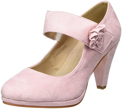 Andrea Conti Damen 0592580 Pumps, Pink (Rosa), 37 EU