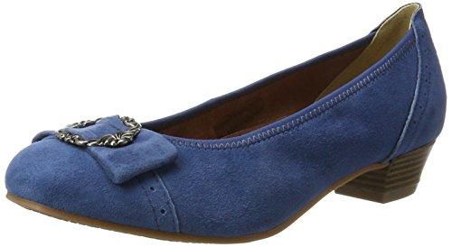 Hirschkogel by Andrea Conti Damen 3009220 Pumps, Blau (Jeans), 41 EU